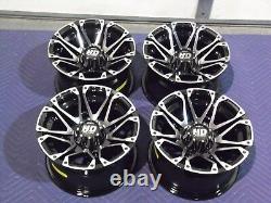 Polaris Sportsman 450 12 Sti Hd3 M Roues De Vtt En Aluminium Complet (set4) Pol3ca