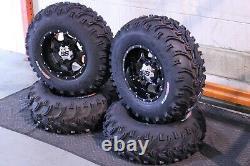 Polaris Sportsman 450 25 Bear Claw Atv Pneu Et Cobra Blk Wheel Kit Pol3ca