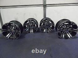 Polaris Sportsman 570 12 Itp Ss212 M Aluminium Atv Wheels Complete Set4 Pol3ca