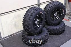 Polaris Sportsman 570 25 Bear Claw Atv Pneu Et Itp Ss212 Blk Wheel Kit Pol3ca