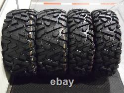 Polaris Sportsman 570 25 Quadking Atv Tire Sti Hd3 M Kit De Roue Pol3ca Bigghorn