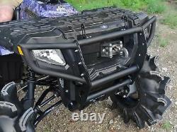 Superatv Polaris Sportsman 500 / 700 / 800 Bumper Avant Noir Voir L'ajustement