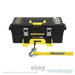 Superwinch Winch2go 12v Treuil Portable 4000 Lb Capacité Avec Corde D'acier De 50'